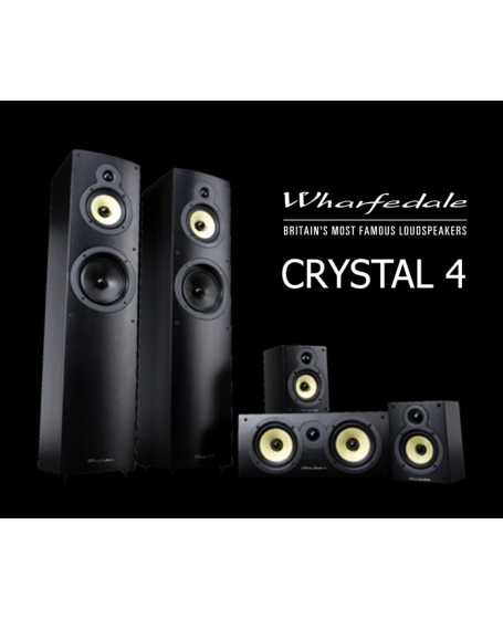 Wharfedale Crystal 4  5.0 Speaker Package