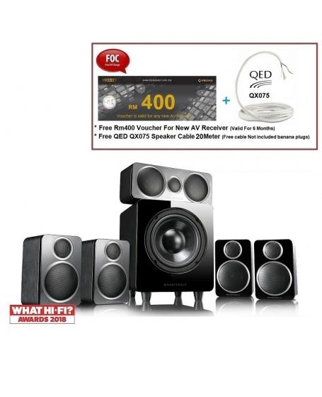 Wharfedale DX-2 HCP 5.1Ch satellite speaker package