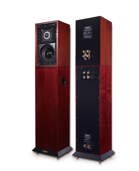 Rogers LS3/5a + AB1 65th Anniversary Edition Monitor Speakers