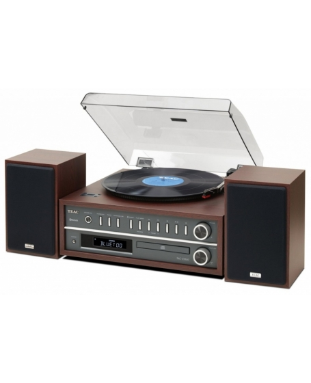 TEAC MC-D800-CH All-In-One Turntable Speaker System with Bluetooth