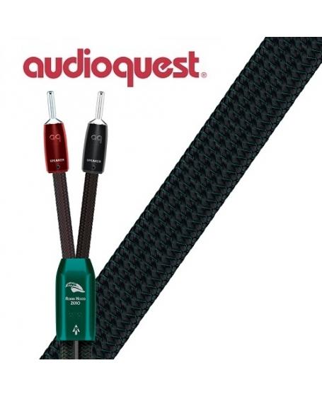 Audioquest  Robin Hood Zero 3m x 2 Banana to Banana Speaker Cable Made In USA