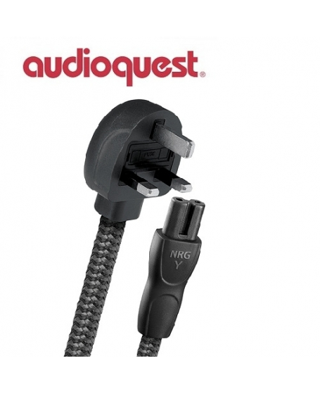 Audioquest  NRG-Y2 UK to C7 Power Cable 2Meter