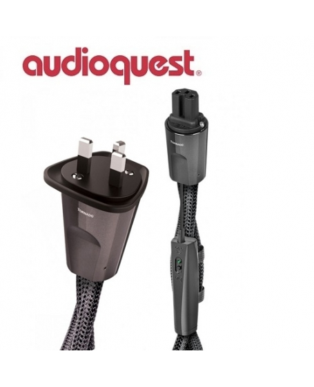 Audioquest NRG Tornado HC UK to C13 Power Cable 2Meter