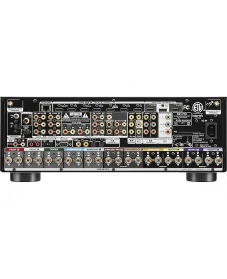Denon AVR-X6400H 11.2CH Atmos Network AV Receiver Made in Japan ( DU )