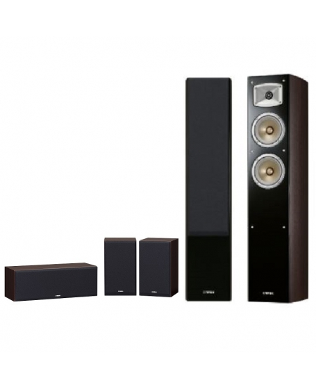 Yamaha NS-F330 + P350 5.0 Home Theatre Speaker Package