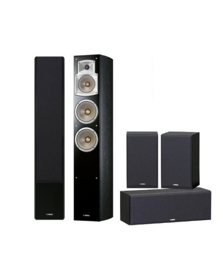 Yamaha NS-F350 + P350 5.0 Home Theatre Speaker Package