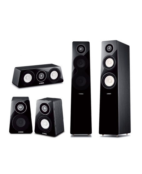 Yamaha NS-F500 + NS-B500 + NS-C500 5.0 Speaker Package