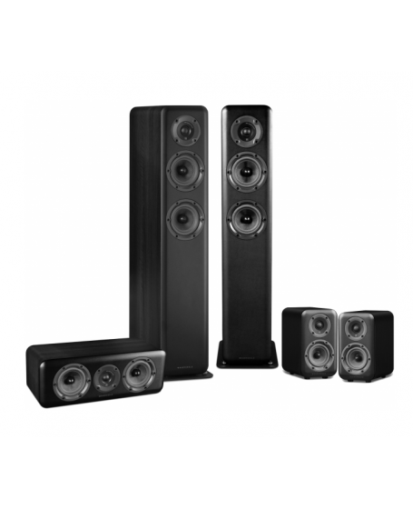 Wharfedale D330 + D310 + D300C Speaker Package