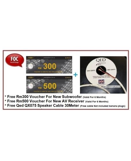 Wharfedale D330 + D310 + D300C 5.0 Speaker Package