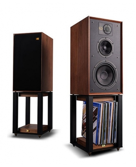 Wharfedale Linton 85th Anniversary Bookshelf Speakers with Stands