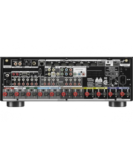 Denon AVR-X4400H 9.2Ch Atmos Network AV Receiver ( DU )