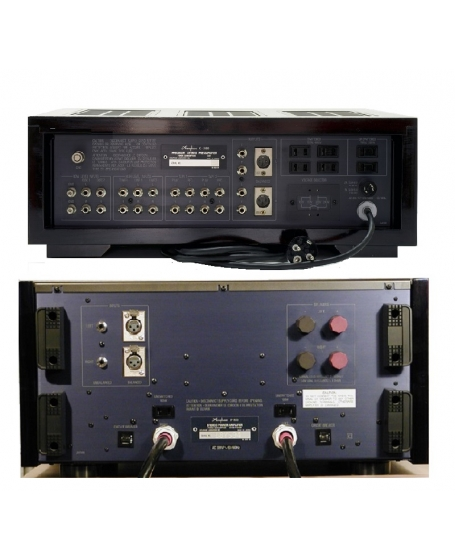 Accuphase Full Set C-280 Preamplifier + P-800 Power Amplifier Made In Japan ( PL )