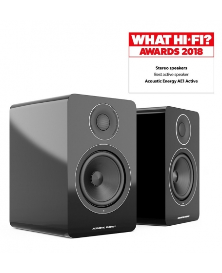 Acoustic Energy AE1 Active Bookshelf Speakers