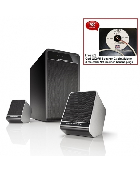 Acoustic Energy Aego³ Sub-Sat 2.1 Bluetooth Speaker Package