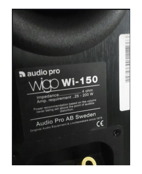 Audio Pro Wigo WI-150 Floorstanding Speakers ( PL )