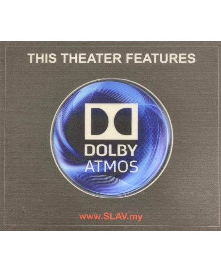 Dolby Atmos Logo Fiberboard