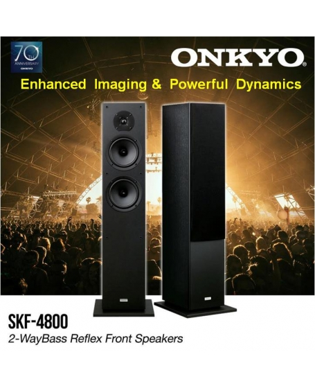 ( Z ) Onkyo SKF-4800 Floorstanding Speakers ( PL ) - Sold Out 23/03/20
