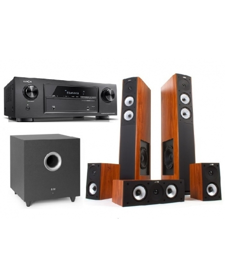 Denon + Jamo + ELAC Home Theatre Package