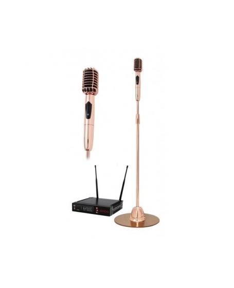 Pro Ktv VSM3 Classic Standing Wireless Microphone