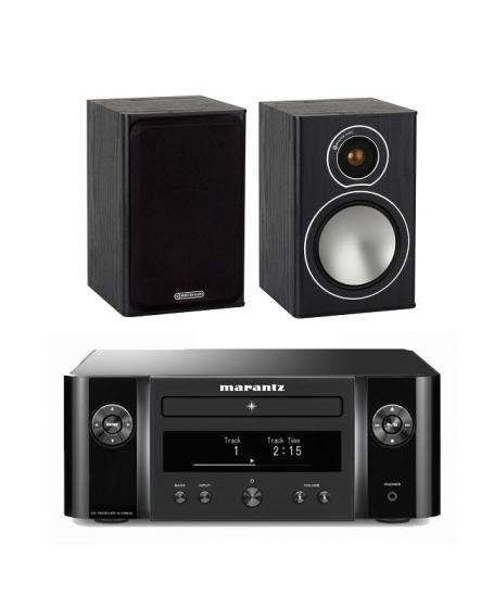 Marantz M-CR412  + Monitor Audio Bronze 1 Hi-Fi System Package