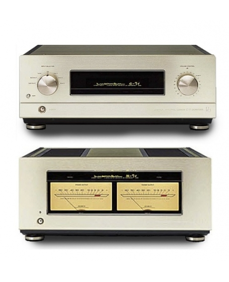 Luxman C7 & M7 Pre And Power Amplifier Made in Japan ( PL )