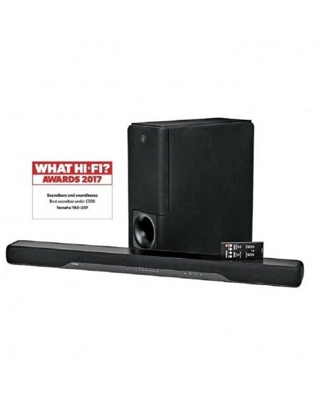 Yamaha YAS-207 Sound Bar With Wireless Subwoofer ( DU )