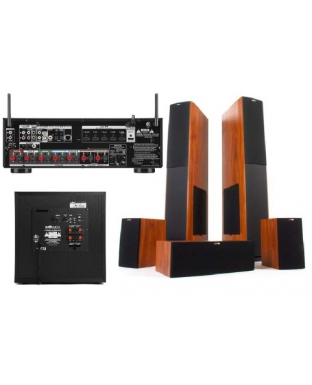 Denon + Jamo + Polk Audio Home Theatre Package