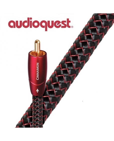 Audioquest Cinnamon RCA To RCA Digital Coax Cable 1.5m