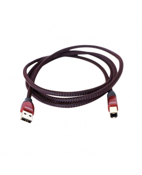 Audioquest Cinnamon USB AB 2.0 Cable 1.5m