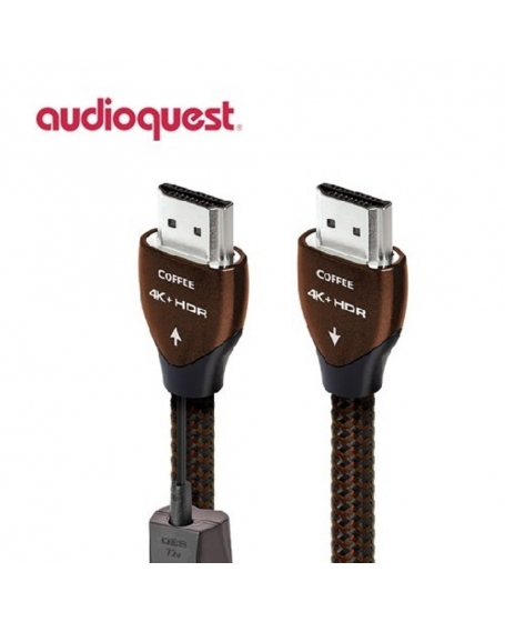 AudioQuest Coffee HDMI 4K Cable 1m