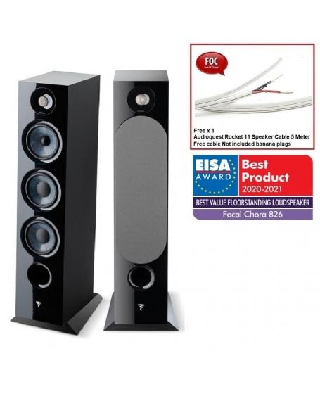 Focal Chora 826 Floorstanding Speaker Made In France
