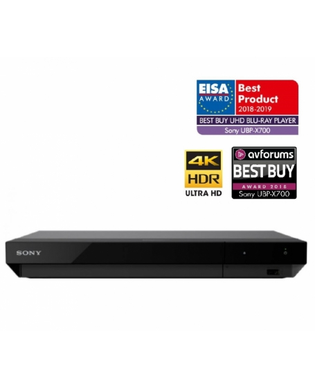 Sony UBP-X700 4K Ultra HD Blu-Ray Player with Dolby Vision Player