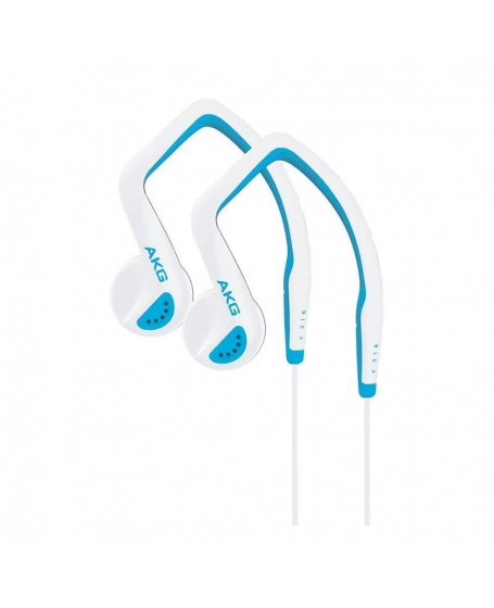 AKG K316BW Blue/White In Ear Headphones