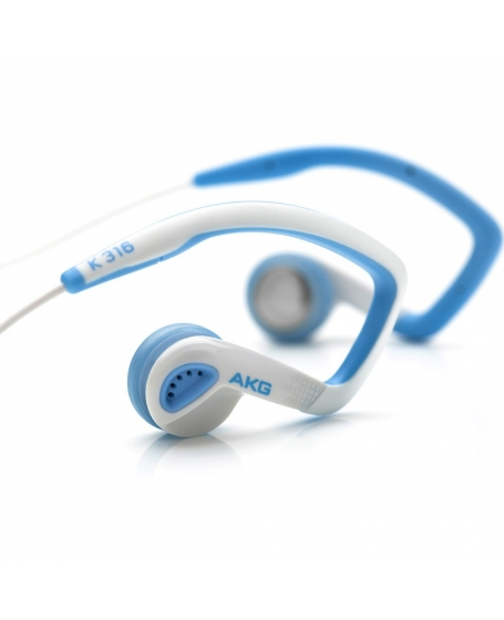 AKG K316BW Blue/White In Ear Headphones