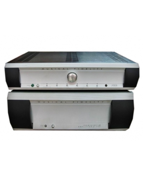 Musical Fidelity F22 Pre Amplifier + Musical Fidelity F15 Power Amplifier Made in England ( PL )