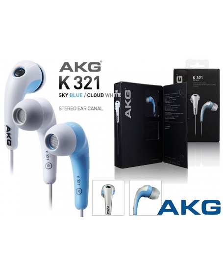 AKG K321 Skyblue Headphones(In-Ear)