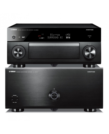 Yamaha CX-A5200 & MX-A5200 Pre / Power Amplifier Combo