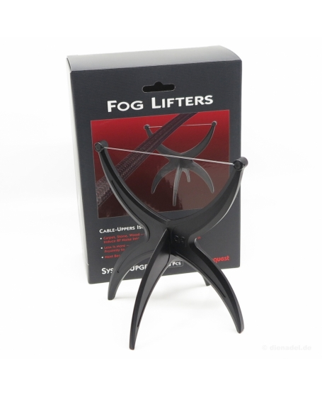 Audioquest FOG LIFTETS Cable - Uppers Isolate RF Noise (set of 8 pcs)