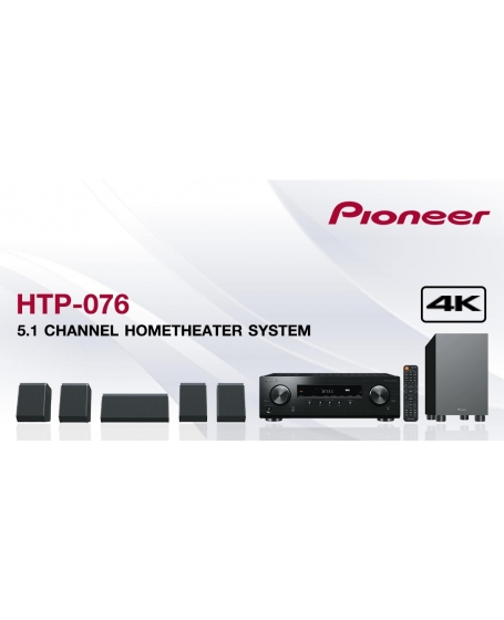 Pioneer HTP-076 5.1CH Atmos Home Theater System