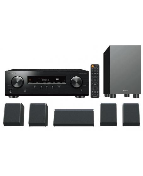 Pioneer HTP-076 5.1Ch satellite speaker package