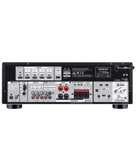 Onkyo TX-SR494 7.2Ch Atmos AV Receiver