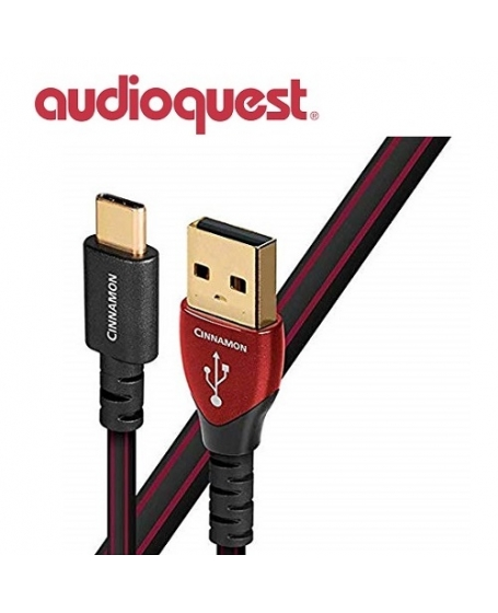 AudioQuest Cinnamon Micro USB to USB A Cable 1.5 Meter