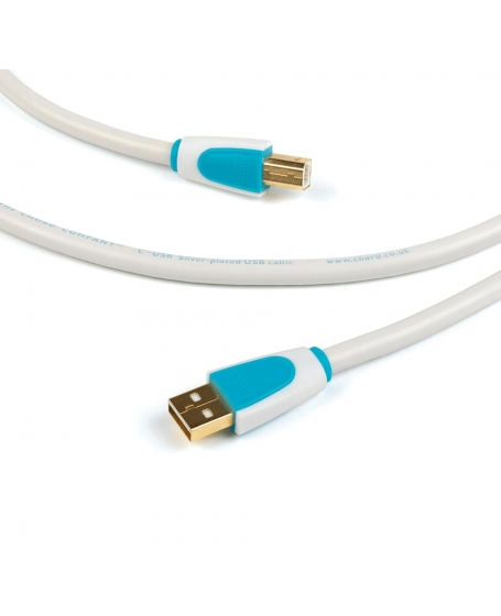 Chord C-USB High Performance Type A to Type B Cable 3 metre