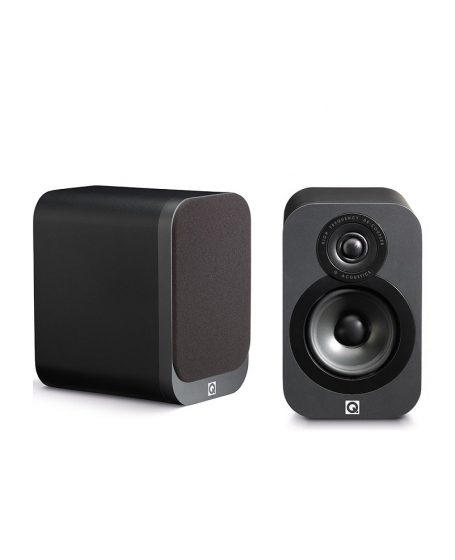 Q Acoustics 3010 Bookshelf Speakers ( DU )