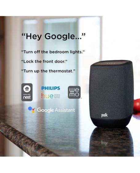 Polk Assist Smart Speaker with the Google Assistant Built-In
