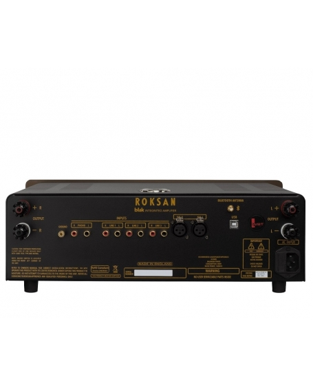 Roksan Blak Integrated Amplifier Made In England (Opened Box New)