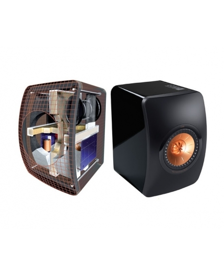 KEF LS50 Flagship Hi-Fi Speakers ( DU )
