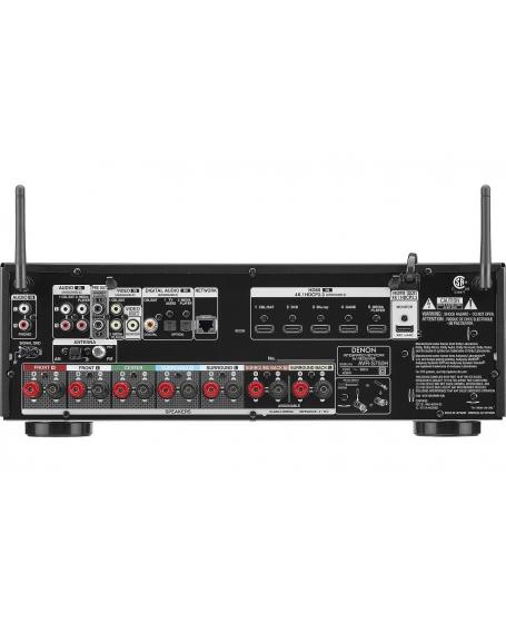( Z ) Denon AVR-S750H 7.2CH Atmos Network AV Receiver ( DU ) - Sold Out 06/04/20