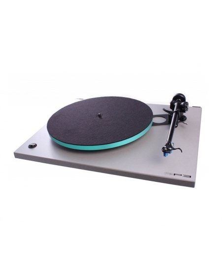 Rega RP3 Turntable With Elys 2 Cartridge Made In England
