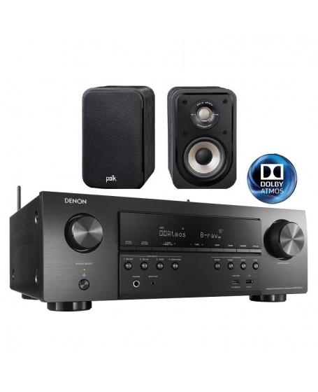 Denon AVR-S750H+ Polk Audio S10e Home Theatre Package